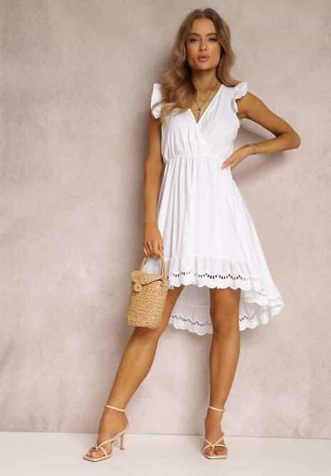 Biała Sukienka Sirelle