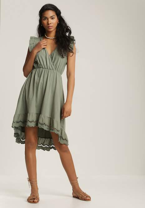 Zielona Sukienka Sirelle