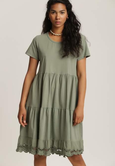 Zielona Sukienka Cihei