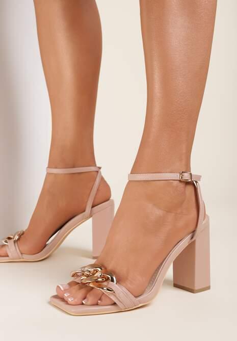 Beżowe Sandały Andaman