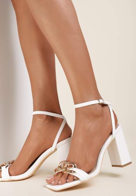 Białe Sandały Andaman
