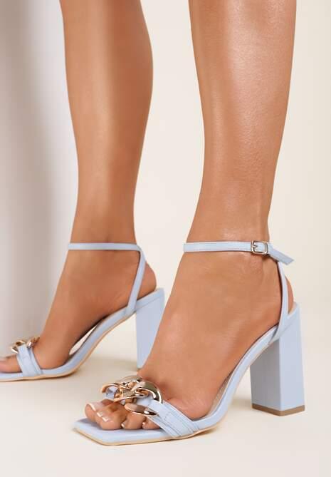 Niebieskie Sandały Andaman