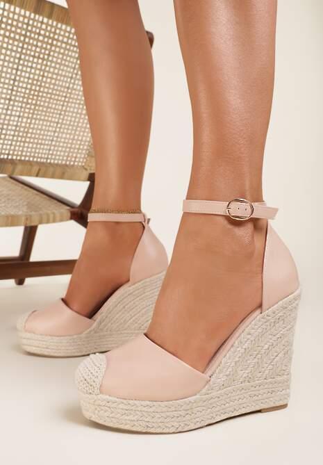 Różowe Sandały Eusitos