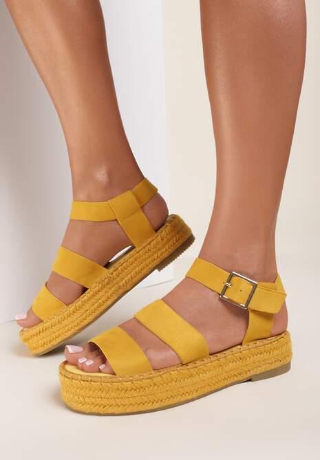 Żółte Sandały Olegwenn