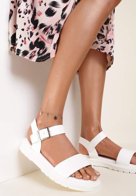 Białe Sandały Phesea