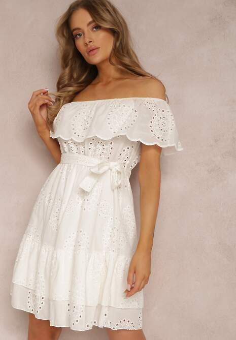 Biała Sukienka Neadone