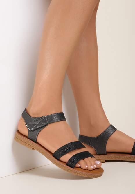 Srebrne Sandały Tanianise