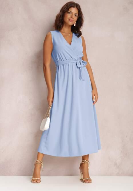 Niebieska Sukienka Limoronis