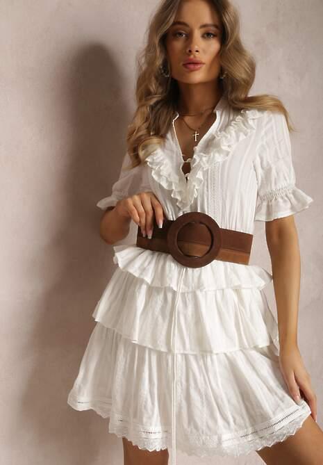 Biała Sukienka Kalliliphis