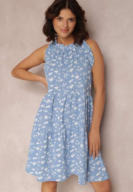 Niebieska Sukienka Nauticiane