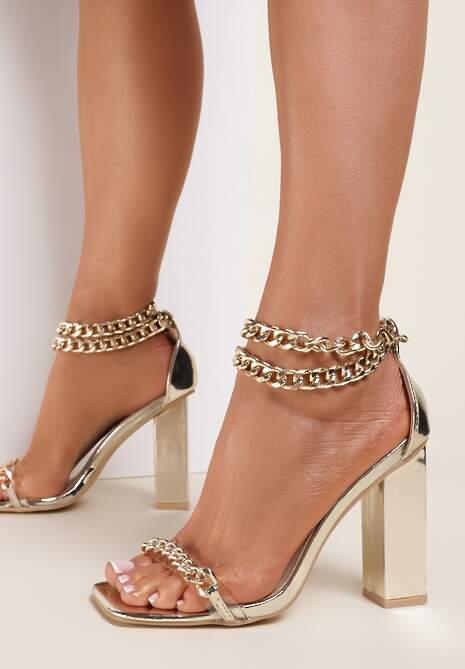 Złote Sandały Laimare