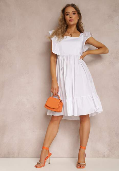 Biała Sukienka Neameriye