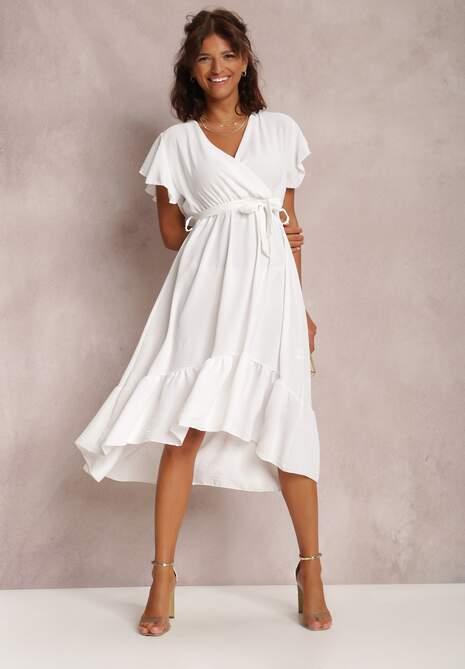 Biała Sukienka Nautirissa