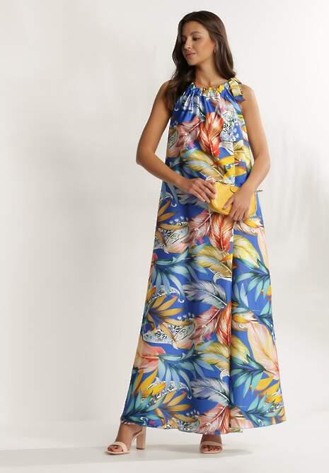 Niebieska Sukienka Iphisnixi
