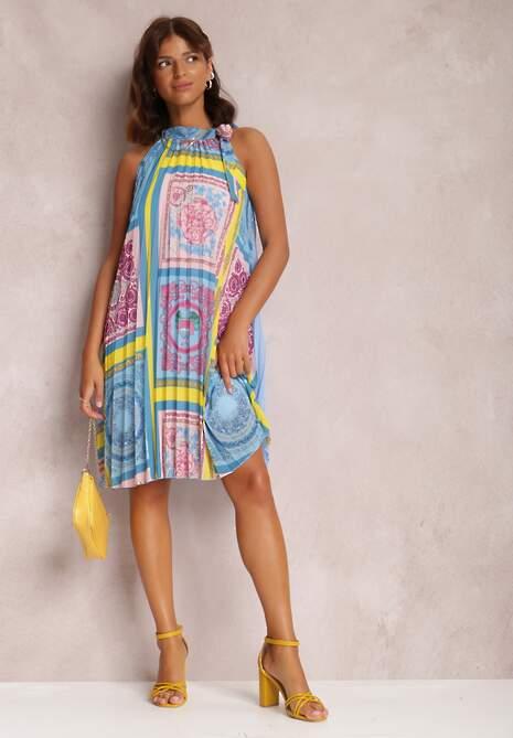 Niebieska Sukienka Amiga