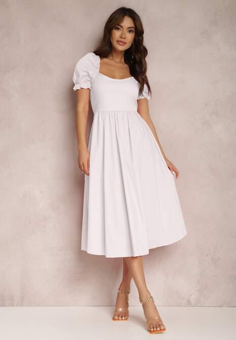 Biała Sukienka Nereimeda