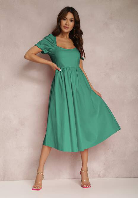 Zielona Sukienka Nereimeda