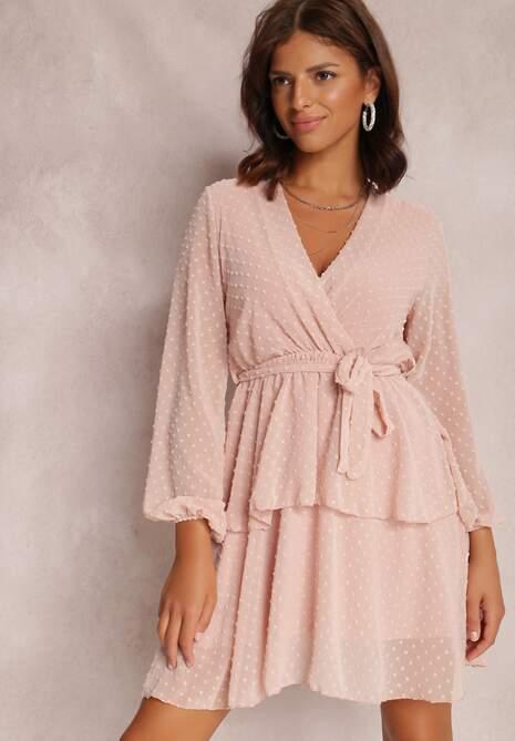 Różowa Sukienka Shadebinder