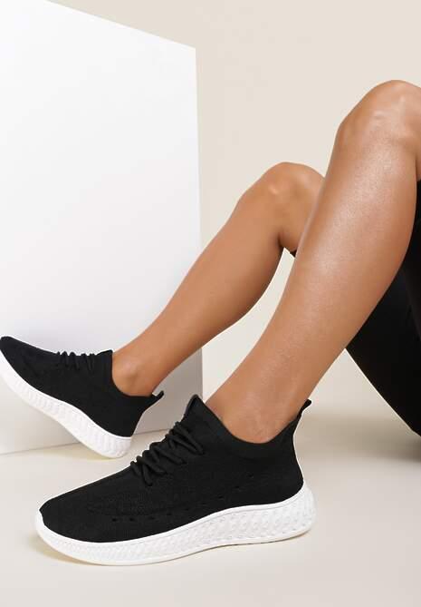 Czarne Buty Sportowe Aquania