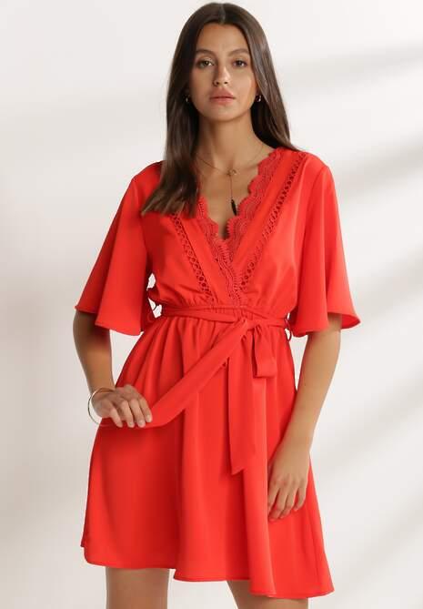 Czerwona Sukienka Penysh