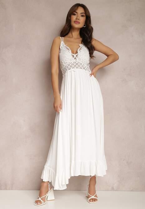 Biała Sukienka Rozanna