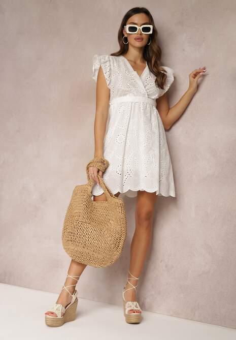 Biała Sukienka Adaelle