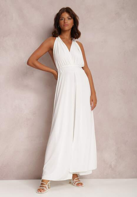 Biała Sukienka Sabessei