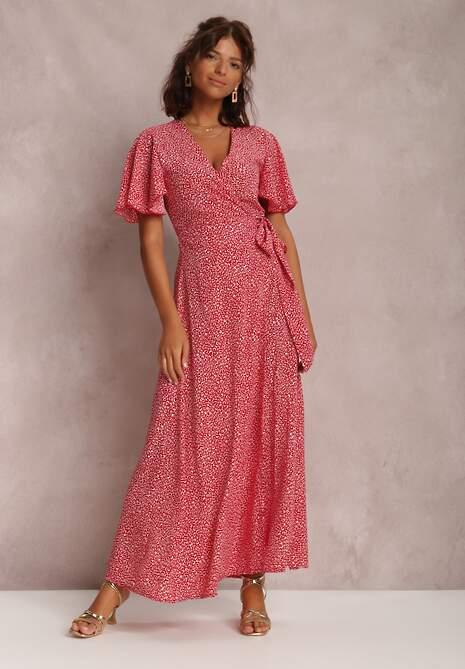 Czerwona Sukienka Alethossia