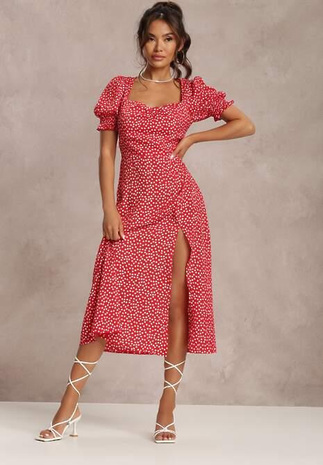 Czerwona Sukienka Melorith