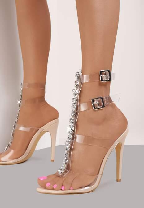 Beżowe Sandały Raicea