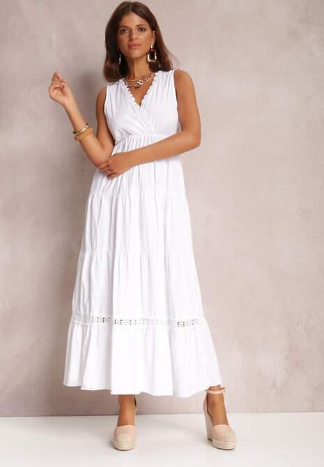 Biała Sukienka Philyphe