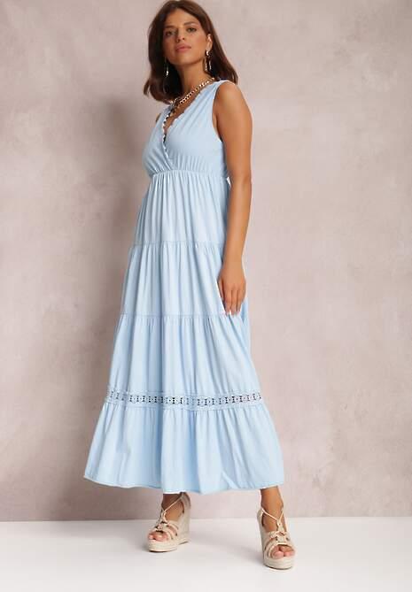 Niebieska Sukienka Philyphe