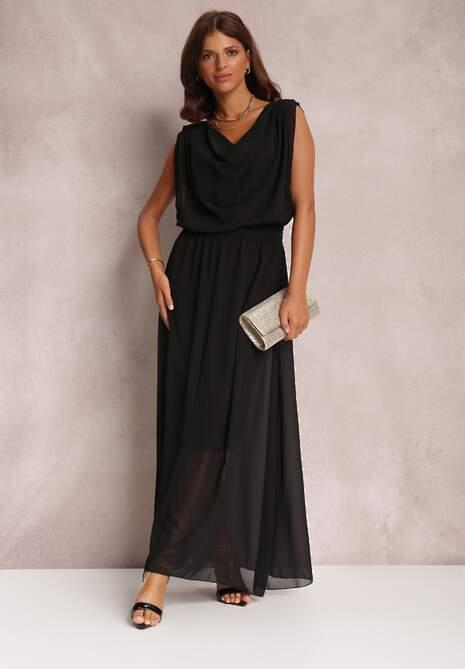 Czarna Sukienka Kaliphea