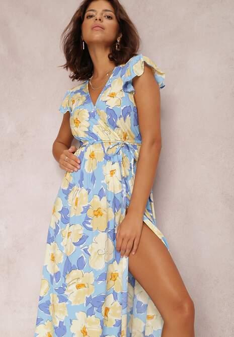 Niebieska Sukienka Mazhand