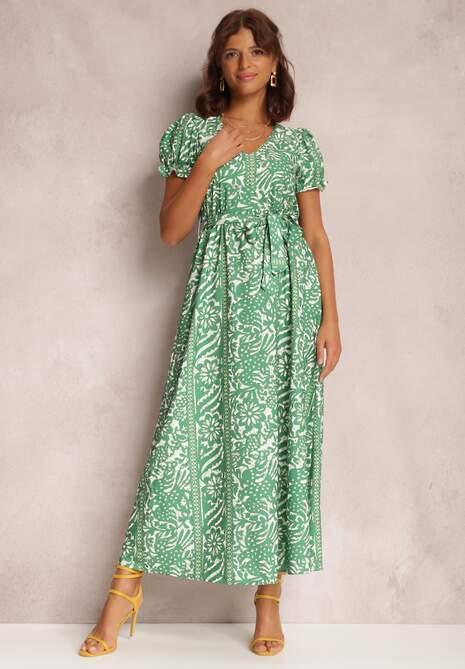 Zielona Sukienka Briagudig