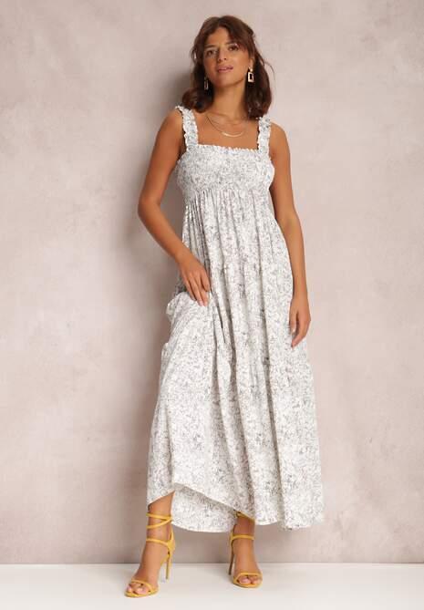 Biała Sukienka Nenaler