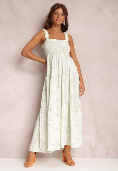 Jasnozielona Sukienka Nenaler