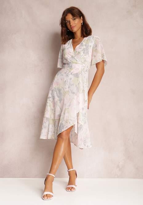 Jasnoróżowa Sukienka Ahegan