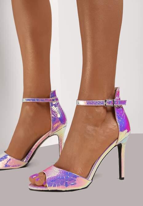 Różowe Sandały Neimbralo