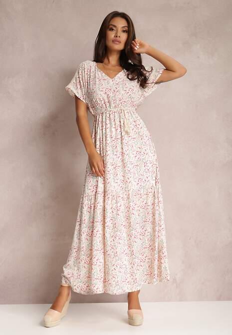 Biała Sukienka Armolda