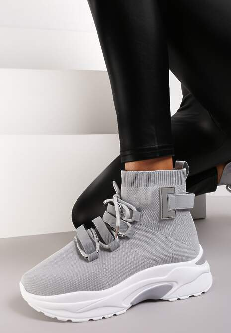 Szare Sneakersy Kayla