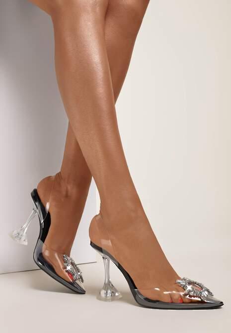 Czarne Sandały Chonthia
