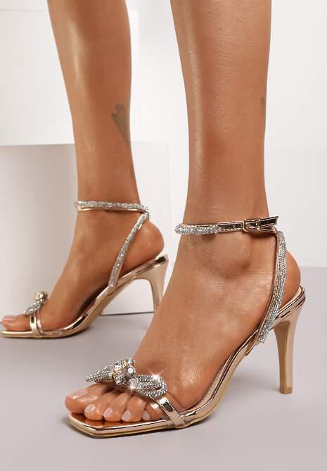 Szampańskie Sandały Vialea