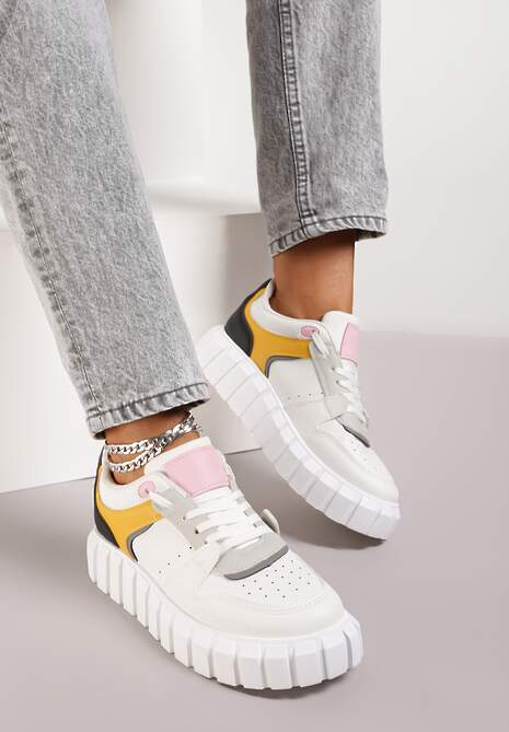 Białe Sneakersy Naisna