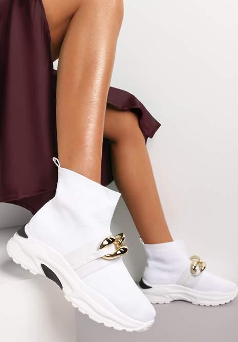 Białe Sneakersy Bostyl