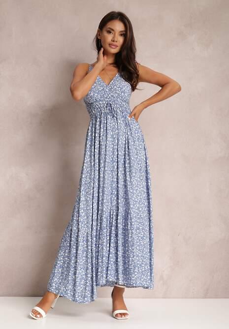 Niebieska Sukienka Konnennig