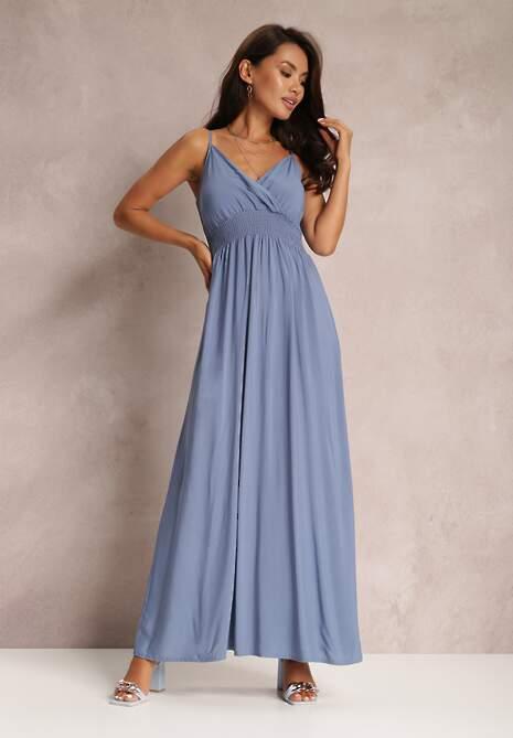 Niebieska Sukienka Sterinig