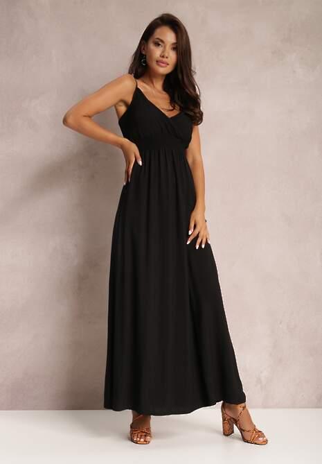 Czarna Sukienka Sterinig
