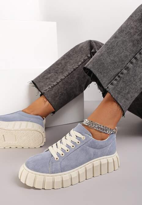 Niebieskie Sneakersy Hiardixa