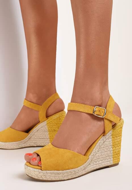 Żółte Sandały Dememon
